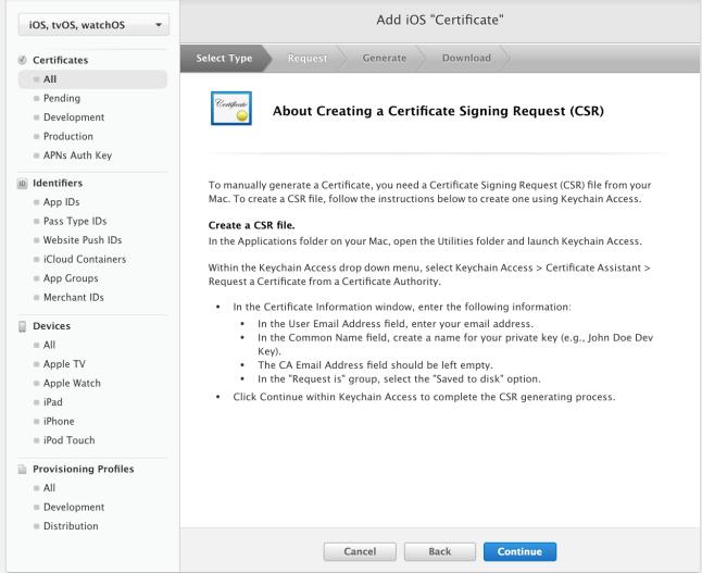 Create CSR File